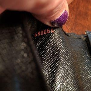 Louis Vuitton Bags - Authentic Louis Vuitton Black Epi CheckBook holder